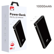 MyBat Pro 10000mAh Power Delivery Power Bank (18W) - Black