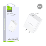 Airium USB-C Wall Charger (20w Power Delivery) - White